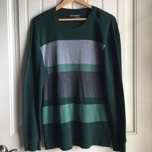 Old Navy Green Gray long Sleeve Thermal